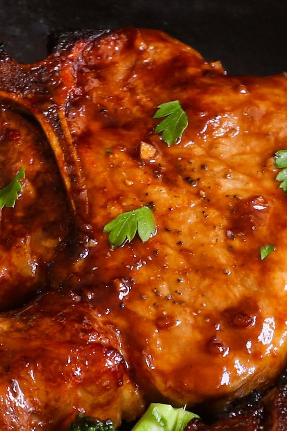 Baked Bone-in Pork Chops Recipe