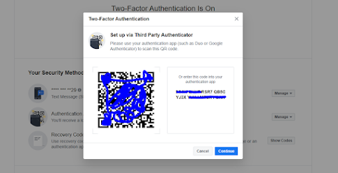 How to enable 2 factor authentication with authy