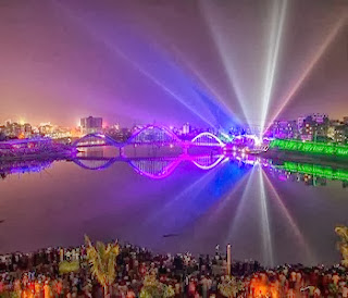 Dazzling Hatirjheel - a mind-blowing place in Dhaka