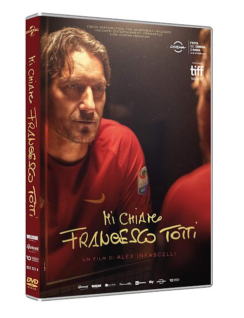 Mi Chiamo Francesco Totti DVD