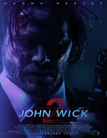 Poster Of John Wick Chapter 2 2017 English 700MB HDTS x264 Free Download Watch Online downloadhub.net