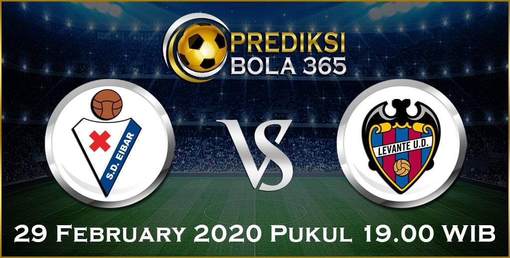 Prediksi Skor Bola Eibar vs Levante 29 Feb 2020