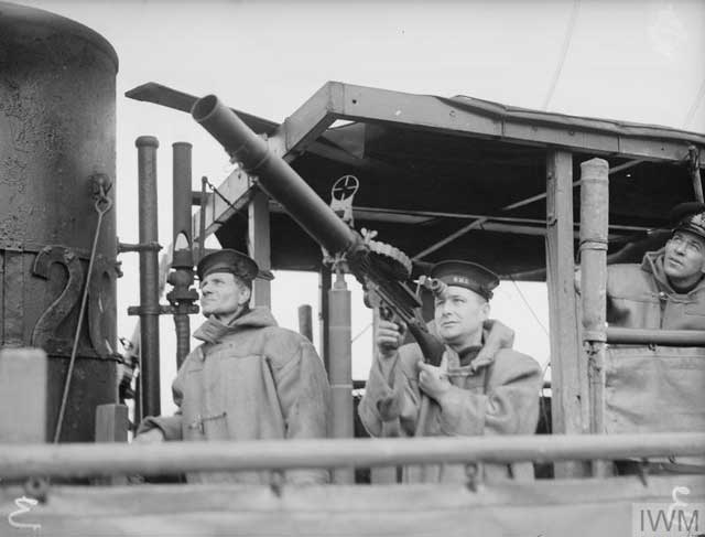 Sailors aboard HMS Young Cliff, 13 February 1942 worldwartwo.filminspector.com