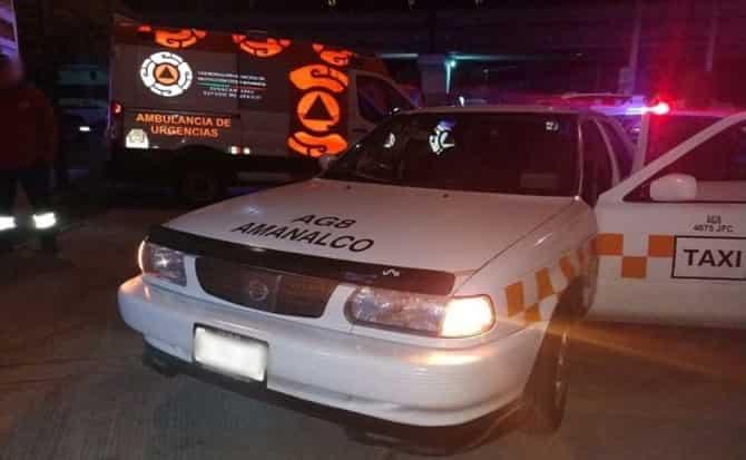 Chofer, taxi, unidad