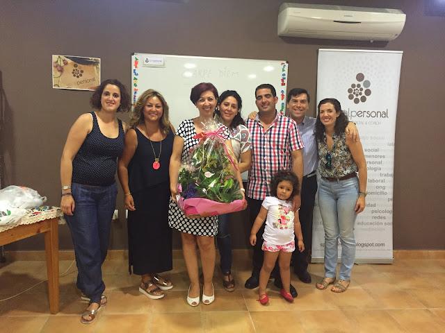 DESPEDIDA DE NUESTRO GRUPOS DE DESARROLLO PERSONAL A TRAVÉS DEL COACH 2015-2016