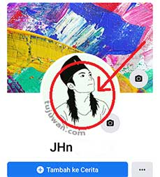 Cara Menghapus Foto Profil di FB dengan HP Android
