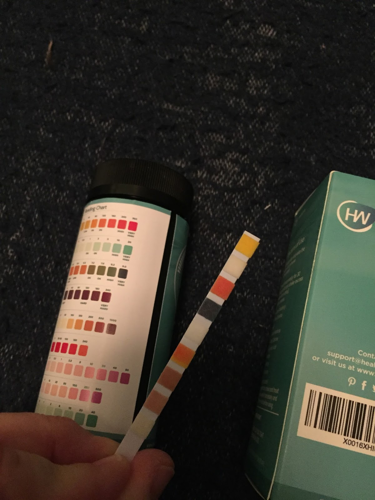Let Your Light Shine Healthywiser 9 Way Water Test Strips