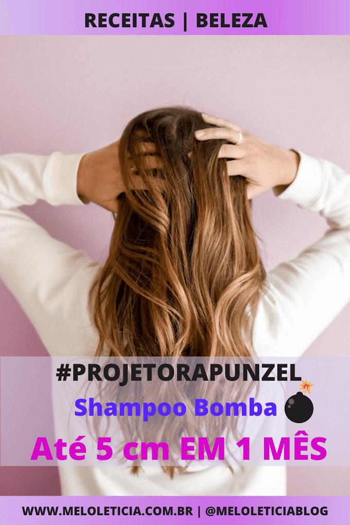 Receita de Shampoo Bomba 💣 Cabelo cresce 5 cm em 1 mês