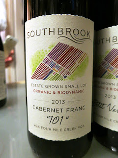 Southbrook Estate Grown Small Lot '101' Cabernet Franc 2013 (91 pts)