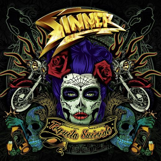 SINNER - Tequila Suicide (2017) full