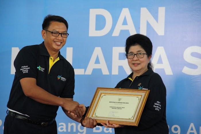 Lagi-Lagi Kabupaten Lampung Timur Menorehkan Prestasi di Bidang Kesehatan