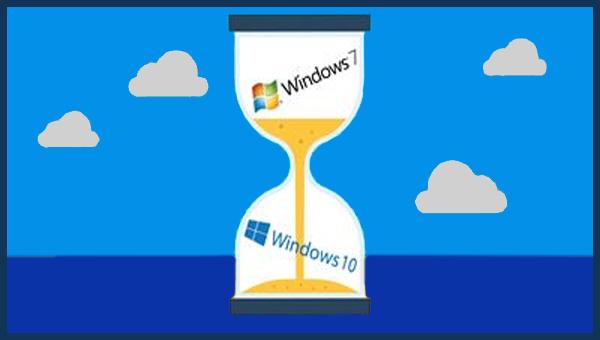Microsoft تحذر من الاستمرار بالعمل على نظام Windows 7
