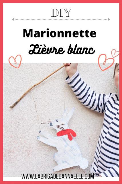 DIY marionnette lapin