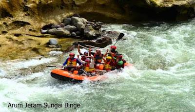 Arum Jeram Sungai Binge
