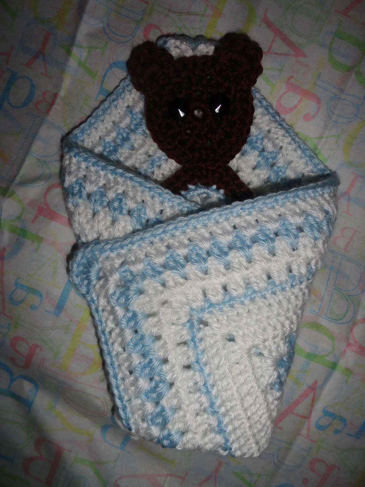 Crochet Crazy Mama Crochet Lovey Security Blankets