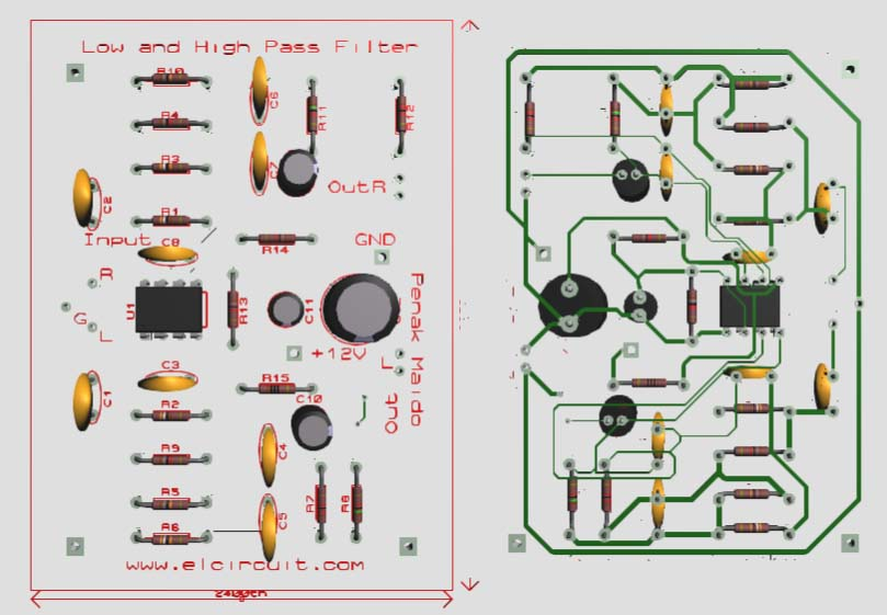 Low Band Bhigh Bpass Bfilter Bpdf on Treble Booster Circuit