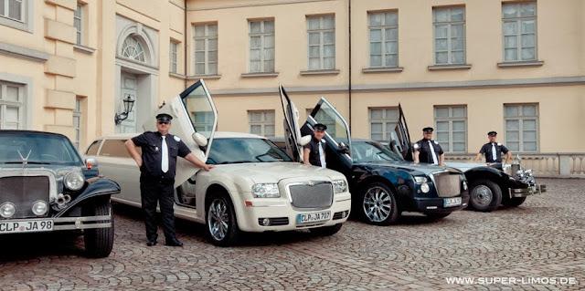 Limousinenservice für Regionen Oldenburg, Bremen, Delmenhorst, Hamburg, Hannover, Osanbrück, Minden, Bielefeld , Münster