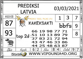 Prediksi Togel LATVIA DUNIA4D 03 MARET 2021