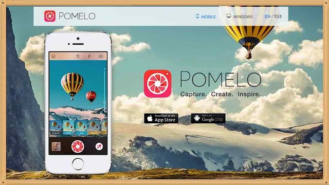 شرح برنامج Pomelo الكتابة على الصور باحترافية تعديل وتحرير الصور مؤثرات فلاتر جاهزة
