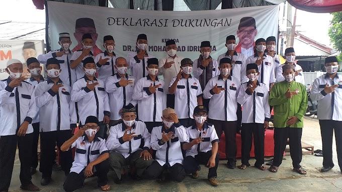 Nomor 2 Terbaik, Relawan Tanah Baru Deklarasi Dukung Idris-Imam