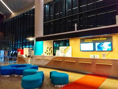 Lobby Terminal Keberangkatan Pelabuhan Eksekutif Merak