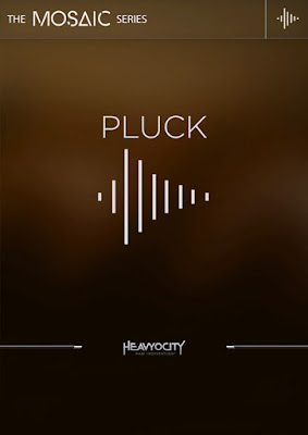 Cover Box da Library Heavyocity - Mosaic Pluck (KONTAKT)