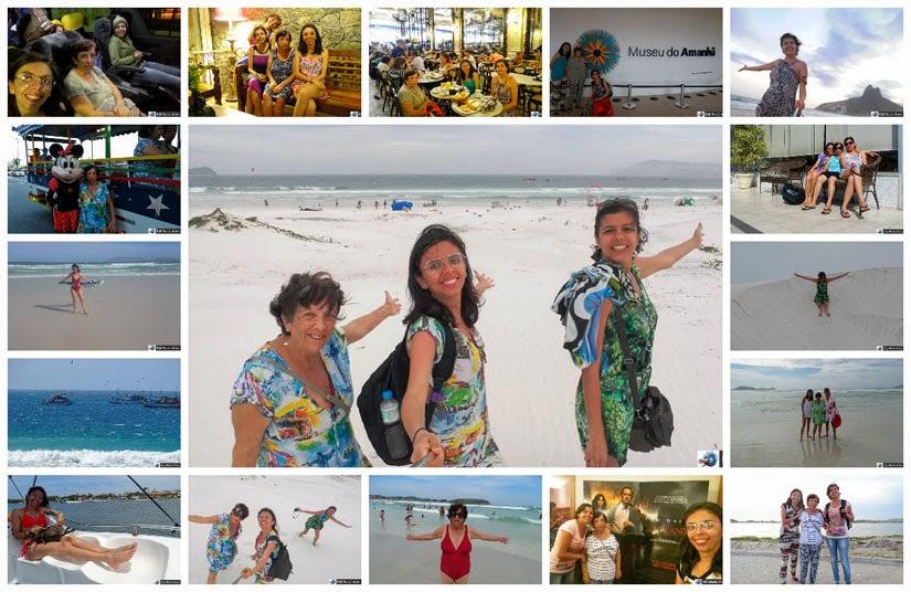 Rio de Janeiro - Cabo Frio - Retrospectiva 2016 de viagens