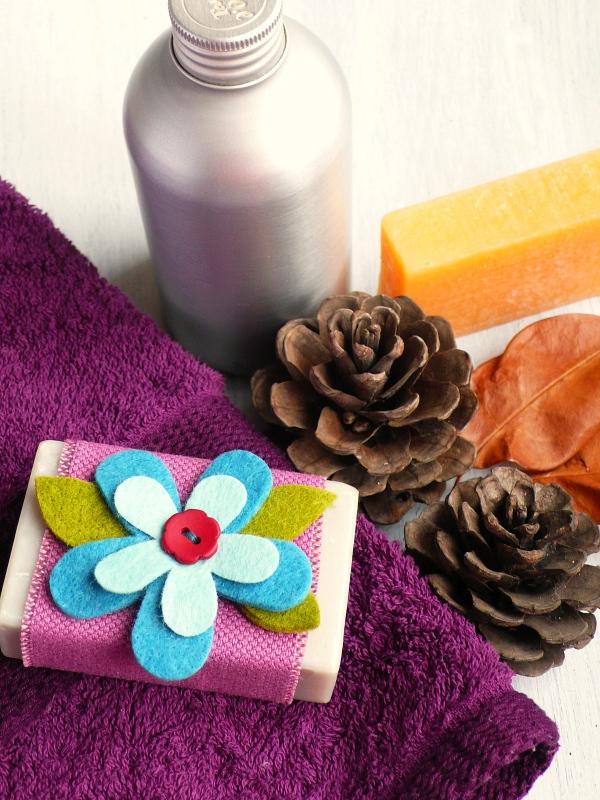 Saponetta in confezione regalo in 5 minuti