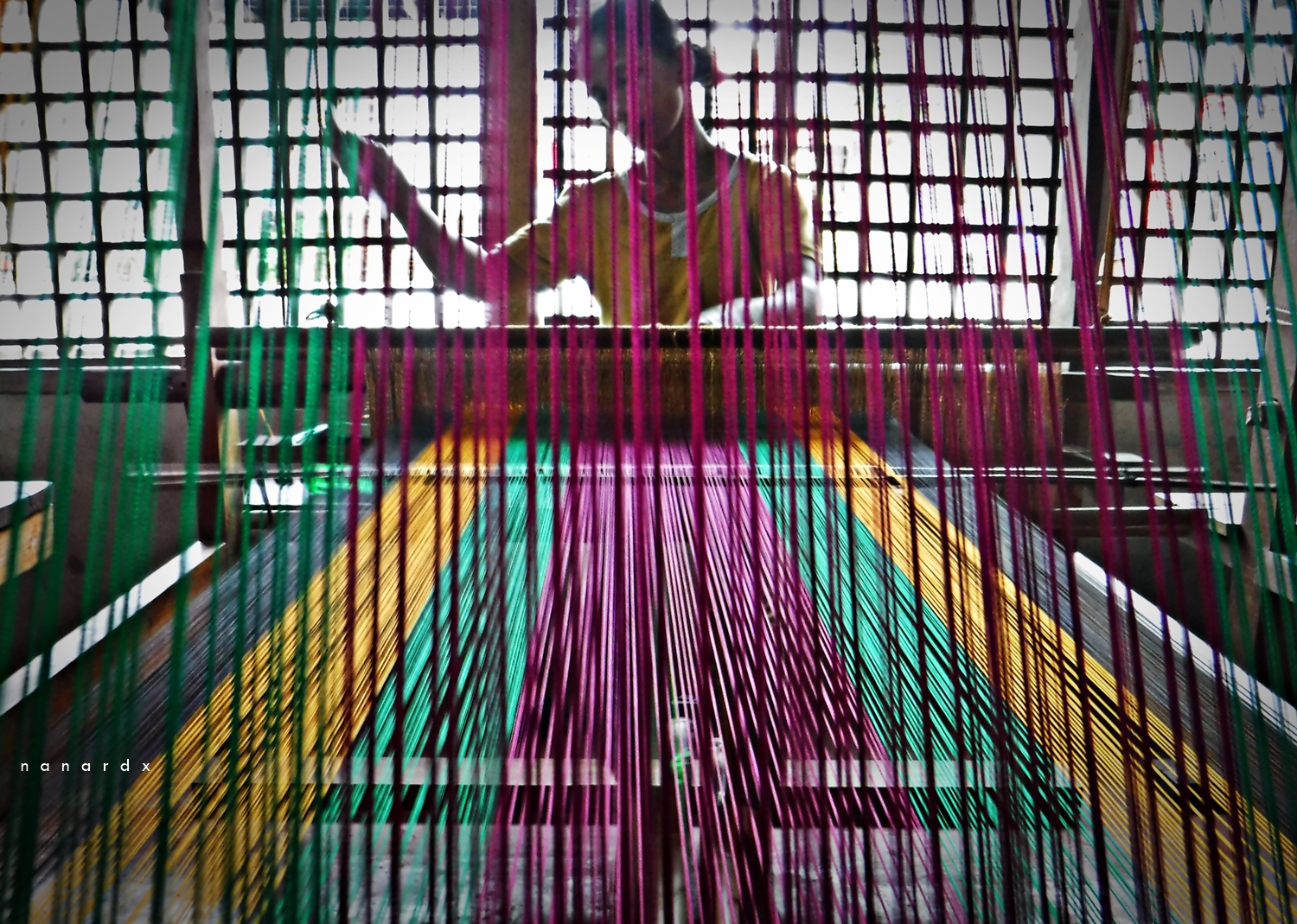 Inaul weaving in Maguindanao