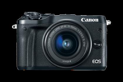 Canon EOS M6 EF-M Driver Download Mac, Windows