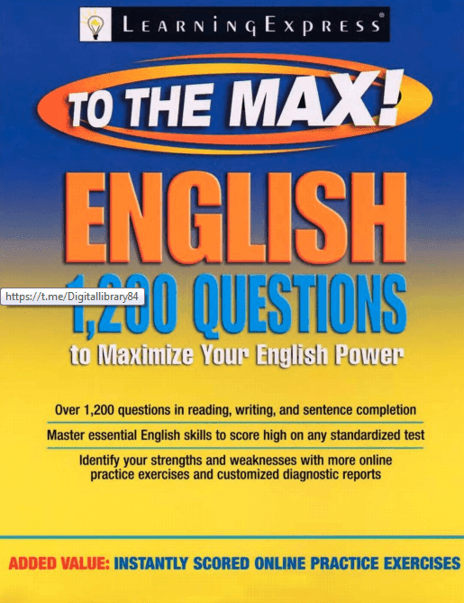 English to the Max 1,200 Questions : for All competitive exams