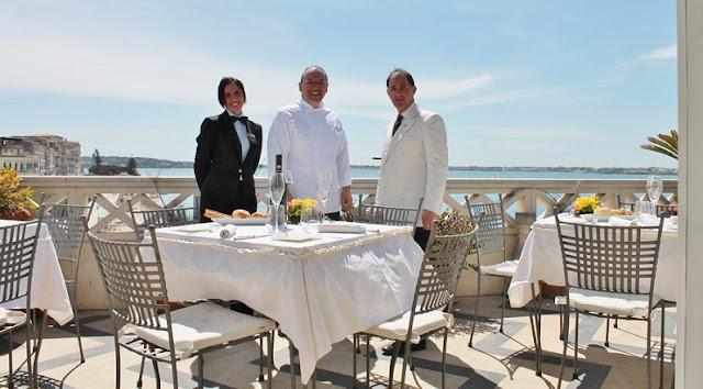 Restaurante La Terraza Sul Mare em Siracusa