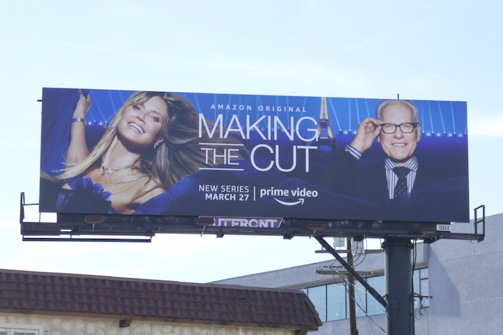 Making the Cut series launch billboard