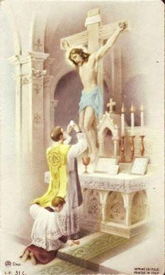 Consagracion del cuerpo y sangre de Cristo
