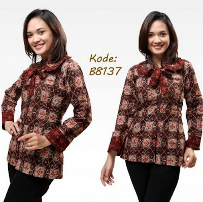 Desain Baju Batik Modern
