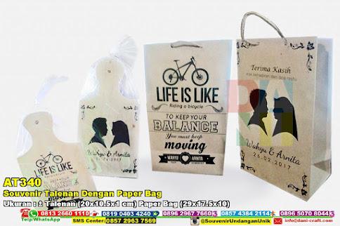 Souvenir Talenan Dengan Paper Bag