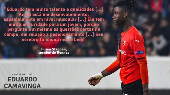 Eduardo Camavinga Julien Stephan Rennes