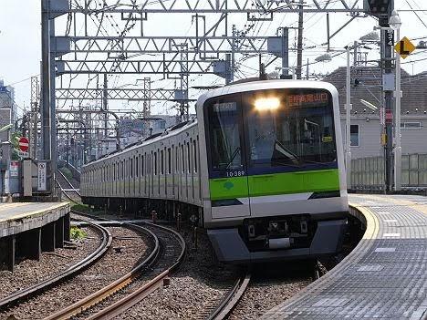 都営車両による「各停 高尾山口行き」代走!380F