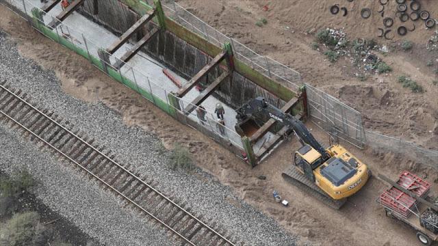 EEUU inicia construcción de prototipos del polémico muro de Trump