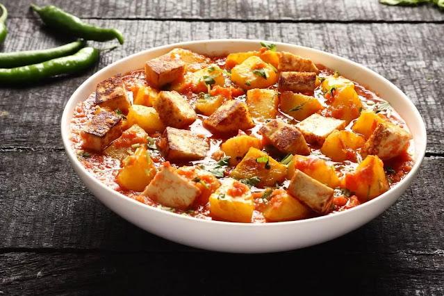 Aloo Paneer Recipe in Hindi