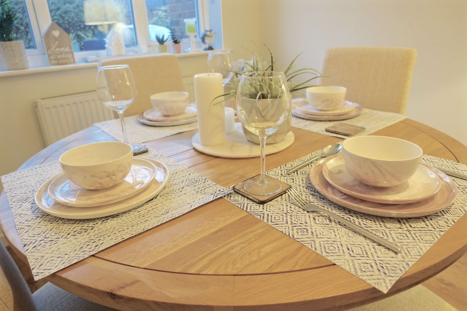 lifestyle dining and tableware shoot at home