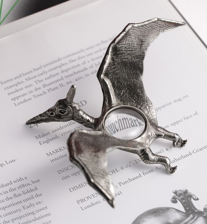 Dinosaurs Stationery From Royal Selangor Pterodactyl Magnifying Glass