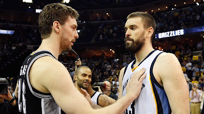 Marc Gasol and his brother