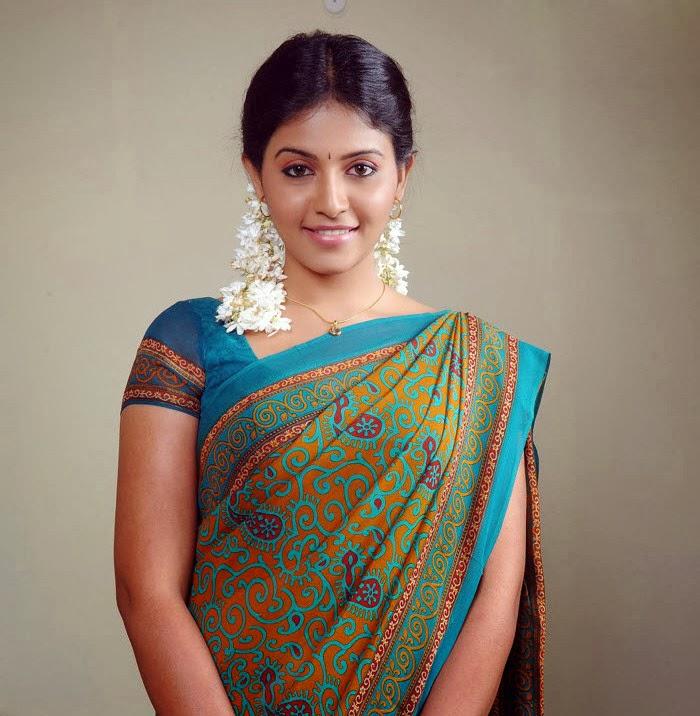 Telugu Actress Anjali In Saree