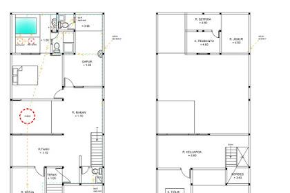 Gambar Kerja Rencana Sanitasi Rumah Tinggal