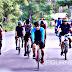 Bupati Banggai Ikuti Gowes di Jalan Trans Sulawesi