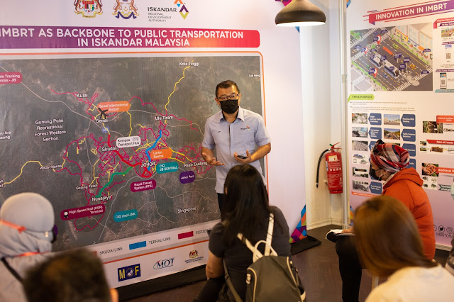 The IMBRT Information Centre at Anjung, Medini is now open to the public.