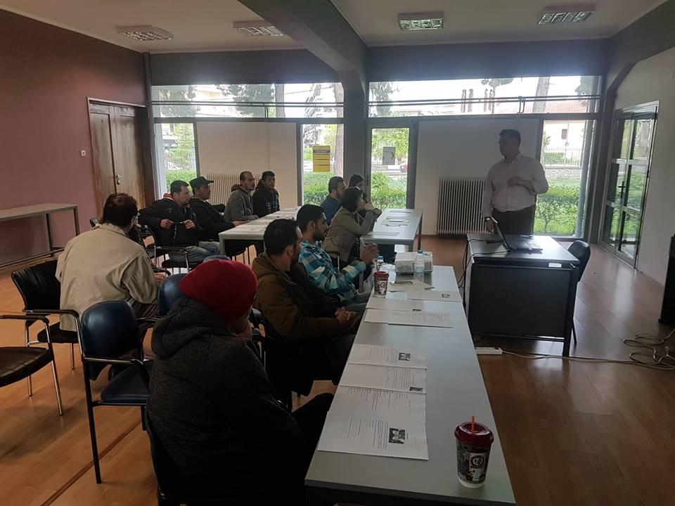 Ολοκληρώθηκε ο 2ος κύκλος ομαδικών εργαστηρίων εργαζομένων και ανέργων στον Τύρναβο