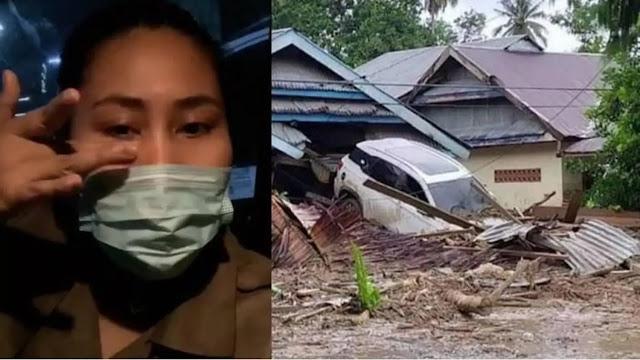 Pedangdut Evi Masamba Jual Mobil Alphard Demi Bantu Warga Banjir Masamba