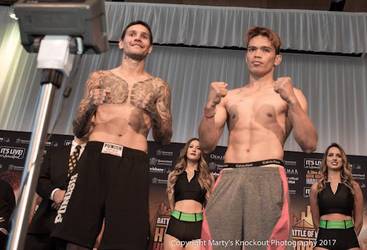 Vergil Puton to face undefeated Paul Fleming Today in Australia